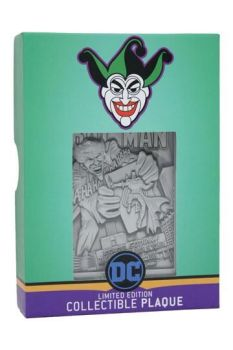 DC Comics Collectible Plaque The Joker Limited Edition FNTK-THG-DC09