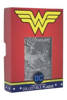 DC Comics Collectible Plaque Wonder Woman Limited Edition FNTK-THG-DC05