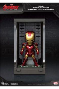 Avengers Age of Ultron Mini Egg Attack Action Figure Hall of Armor Iron Man Mark XLIII 8 cm BKDMEA-14050
