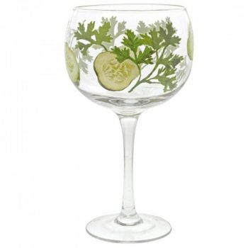 Cucumber Copa Glass A29735