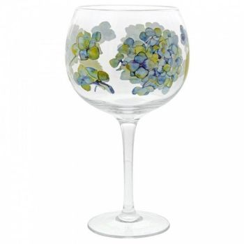 Hydrangea Gin Copa Glass A29738