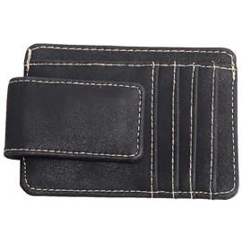 MAD MAN BLACK MONEY CLIP WITH CARD SLOTS AND NOTE HOLDER PRODUCT CODE: HM2193