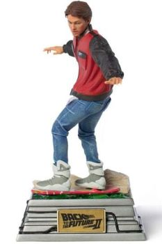 Back to the Future II Art Scale Statue 1/10 Marty McFly on Hoverboard 22 cm IS12797