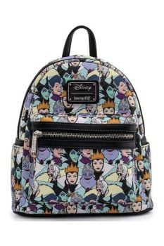 Disney by Loungefly Backpack Maleficent Villains AOP heo Exclusive LF-WDBK1680