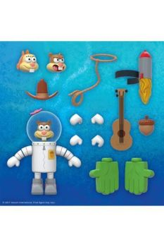 SpongeBob Ultimates Action Figure Sandy Cheeks 18 cm SUP7-UL-SBOBW01-SDY-01