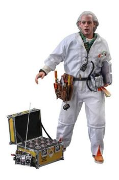 Back To The Future Movie Masterpiece Action Figure 1/6 Doc Brown (Deluxe Version) 30 cm HOT909291