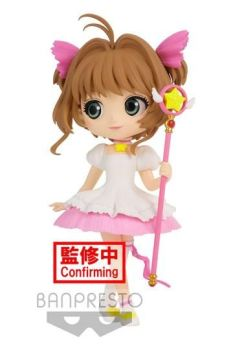 Cardcaptor Sakura Sakura Card Q Posket Mini Figure Sakura Kinomoto Ver. A 14 cm BANPBP18285P