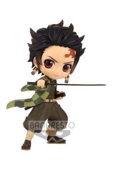 Demon Slayer Kimetsu no Yaiba Q Posket Mini Figure Tanjiro Kamado III Ver. B 13 cm BANPBP18312P