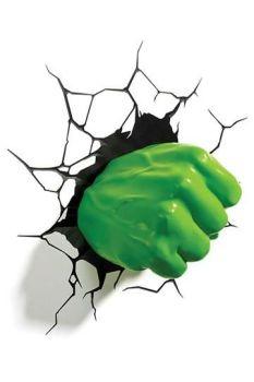 Marvel 3D LED Light Hulk Fist Decoration Marvel 3DL49467