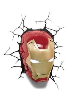 Marvel 3D LED Light Iron Man 3DL49465
