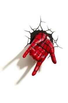 Ultimate Spider-Man 3D LED Light Spider-Man Hand 3DL75194