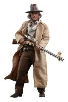 Back To The Zukunft III Movie Masterpiece Action Figure 1/6 Doc Brown 32 cm HOT909370