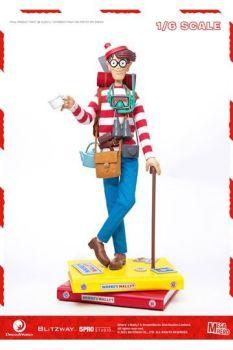 Where's Wally? Mega Hero Action Figure 1/6 Wally 34 cm BW47948