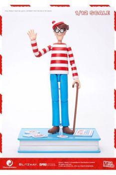 Where's Wally? Mega Hero Action Figure 1/12 Wally 17 cm BW47949