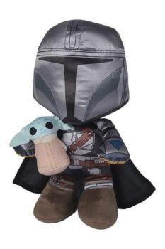 Star Wars: The Mandalorian Plush Figure Manda+Grogu 25 cm SIM6315875806