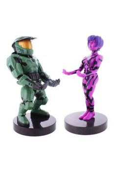 Halo 20th Anniversary Cable Guy Twin Pack Master Chief & Cortana 20 cm EXGMER-3197