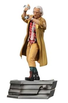Back to the Future II Art Scale Statue 1/10 Doc Brown 25 cm IS12861