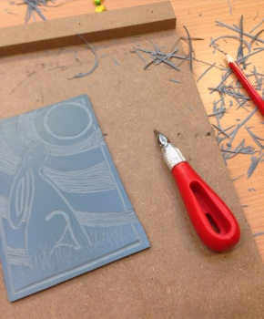 x. Introduction to Lino Printing - Please contact me if you would be interested
