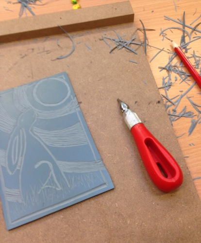 b. Introduction to Lino Printing - Thursday 22nd February 12.30-2.30