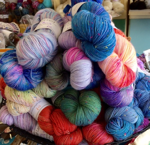 x. Dye your own yarn