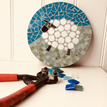 j. Introduction to Mosaics with Dawn - Sunday 3rd June 12.30-5pm