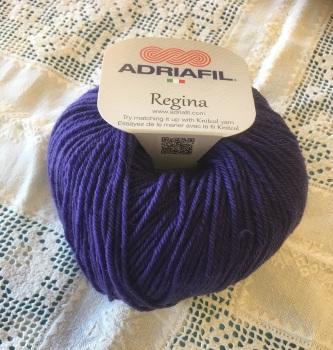 k. Regina 100% Merino DK - 73 deep purple