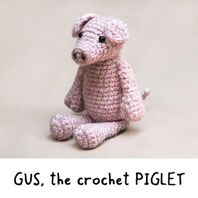 Gus the Piglet - Cotton
