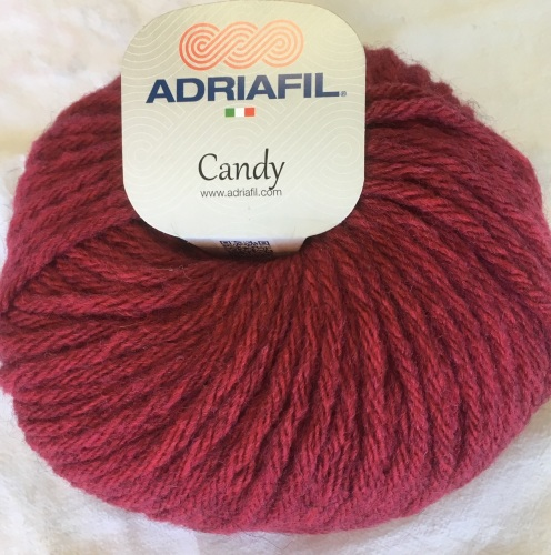 Adriafil Candy super chunky - 91 cherry red