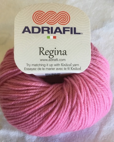 h. Regina 100% Merino DK - bright pink