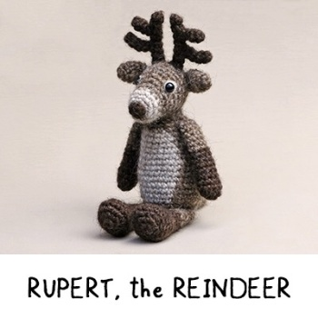 1. Rupert the Reindeer - Cotton