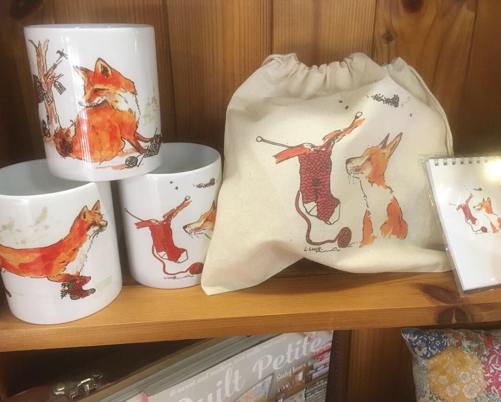 Foxy Bags and Notebooks