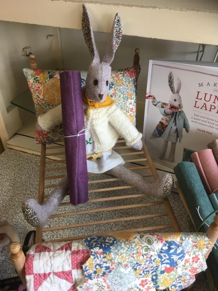 Wool Felt piece for Luna body and coat - Heather marl