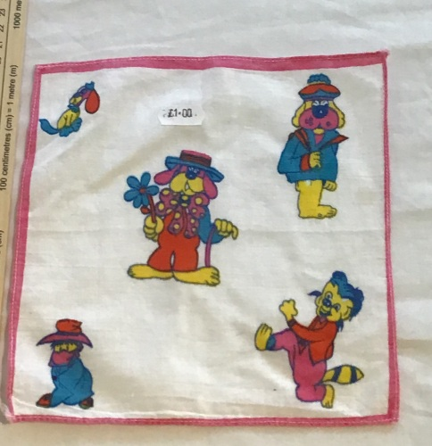 Printed child's hankie - dogs 2