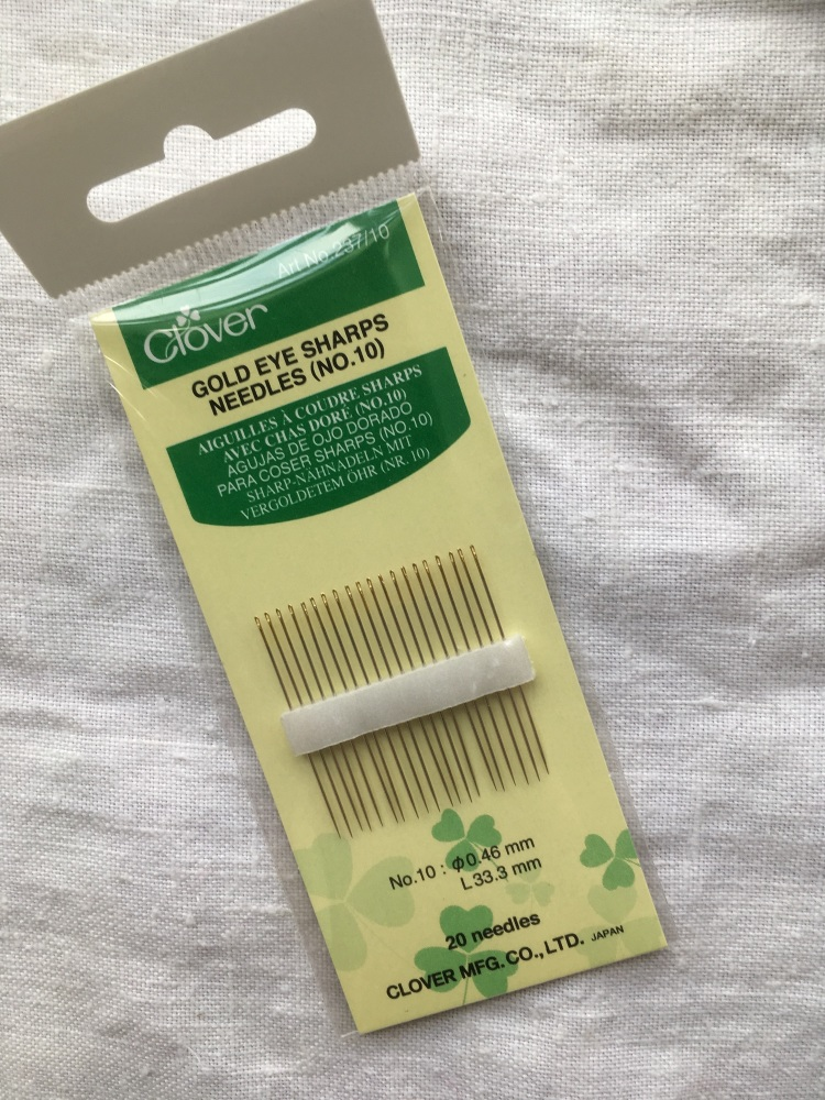 Fine sewing needles