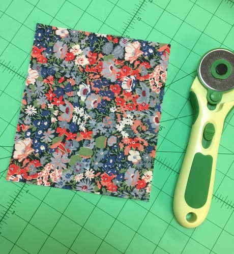 Little pieces of Liberty Lawn for bunny ears and paws - colour 3