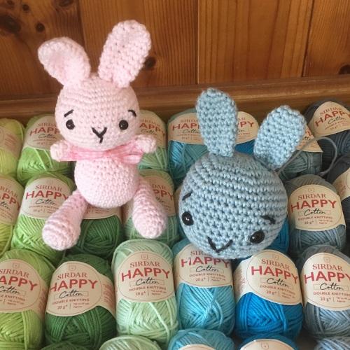 a. Introduction to Amigurumi crochet - Saturday 27th April 10.30 -1.30