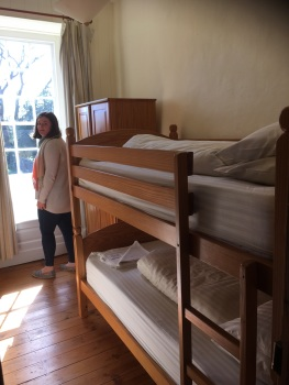 Room 2 Balance for Sue - 50% payment for: Sole occupancy of a small single room with bunk beds