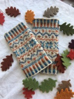 Locket's Fair Isle Wristies kit - The Original