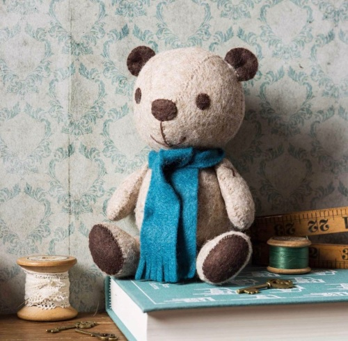Felt Craft Kit - Vintage Teddy