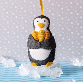 Craft Mini Kit - Penguin with fish