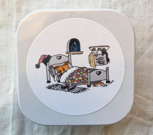 "1. Little Keepsake Tin - ""Dreaming of Wool"""