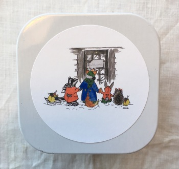 "1. Little Keepsake Tin - ""Arriving at Lucy Locket Land"""