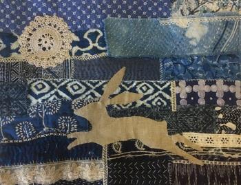 1. Locket's Midnight Hare Stitching Kit