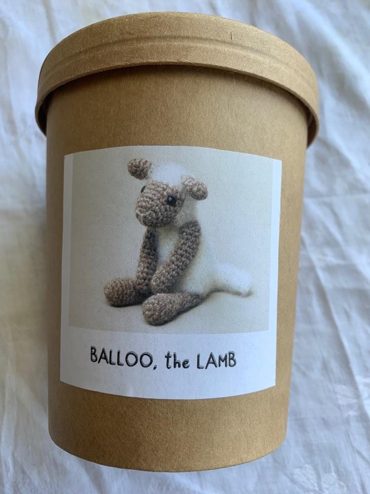 Cotton & Fluff Balloo the Lamb