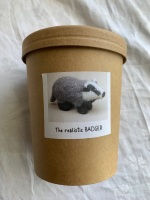 Cotton and Fluff Realistic Badger