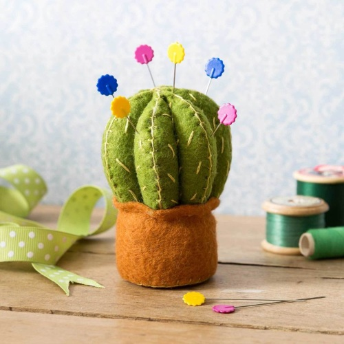 Mini Cactus Pin Cushion kit