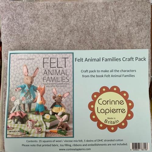 Brand New! Corinne Lapierre's Animal Families Felt