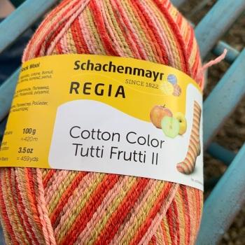 Regia 4ply - Cotton Color Tutti Frutti - Apple