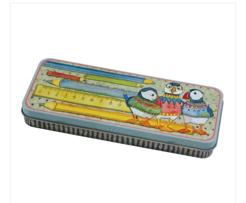 Woolly Puffin Pencil Tin