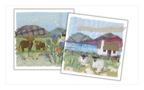Highland Tweedies II Mini Card Pack